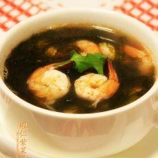 虾仁紫菜汤