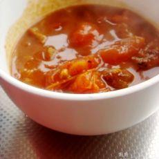 牛肉炖柿子的做法