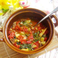砂锅番茄牛肉的做法