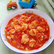 番茄炒虾仁