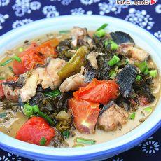 番茄酸菜鱼的做法