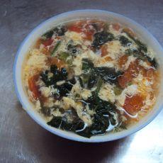 番茄菠菜蛋汤