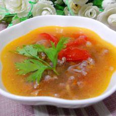 快速牛肉番茄汤的做法