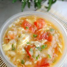 最最家常的茄汁面片汤