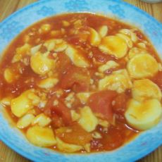 茄汁日本豆腐的做法