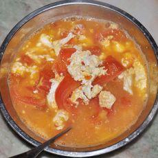 鸡蛋番茄汤的做法