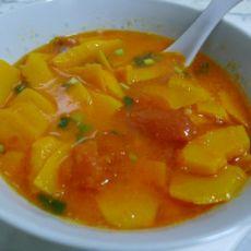 南瓜番茄汤的做法