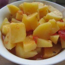 土豆西红柿的做法