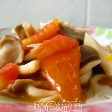 (原创首发)西红柿炒蘑菇