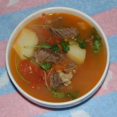 番茄土豆牛腩