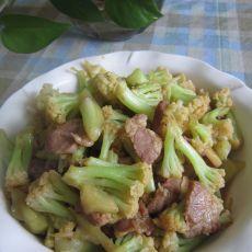 花椰菜炒肉片