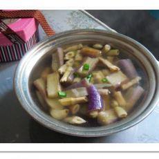笋干茄子汤