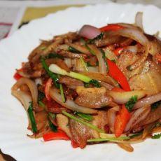 洋葱炒五花肉
