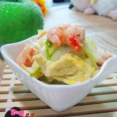 虾仁鸡蛋炒韭黄的做法