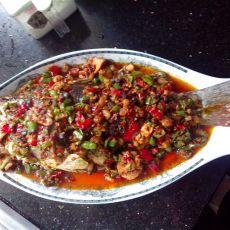 双椒淋汁鱼