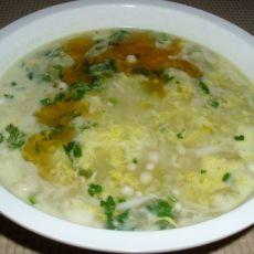 金针菇蛋花汤