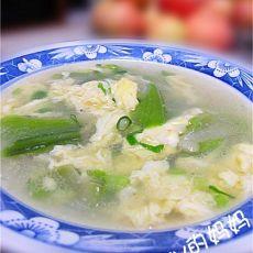 丝瓜虾皮蛋花汤