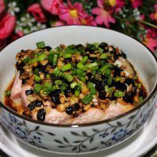 蒜蓉豆豉蒸三文鱼