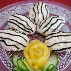 琵琶豆腐虾