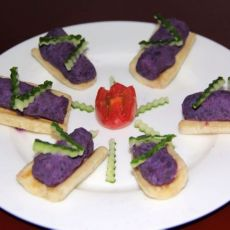 香蕉紫薯船