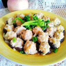 香菇酿虾肉丸子