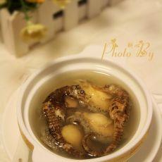 鲍鱼海马鸡汤