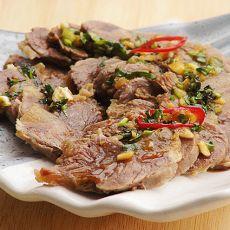 卤水凉拌牛肉