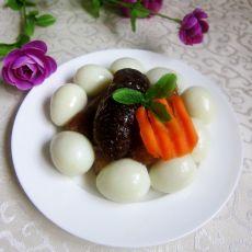 海参烩鹌鹑蛋