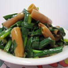 韭菜炒海肠(原创首发)