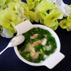 蛤肉疙瘩汤