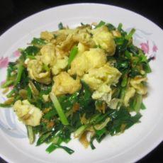 韭香鸡蛋虾皮
