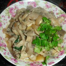 鲜蘑炒肉片