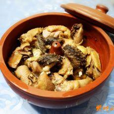 海参汽锅鸡