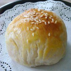 酥皮韭菜包