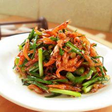 韭菜河虾干