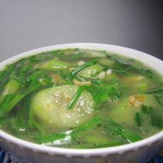 干贝丝瓜汤