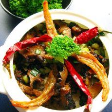 海参焖虾干