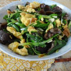 木须韭菜的做法