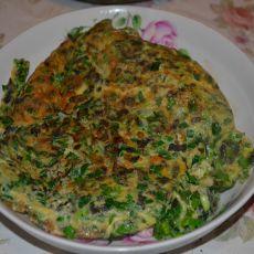 韭菜香椿鸡蛋