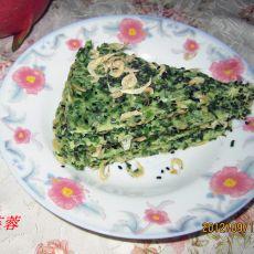 虾皮韭菜饼的做法