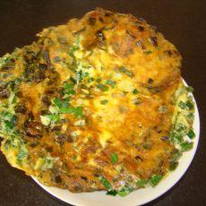 韭菜虾皮煎蛋