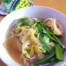 榨菜丝汤面