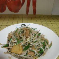 韭香绿豆芽的做法