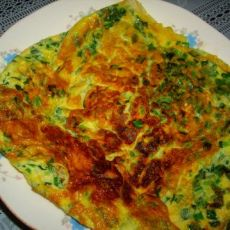 韭菜煎鸡蛋
