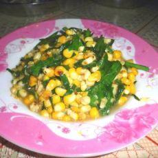 韭菜玉米粒