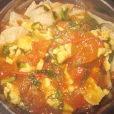 韭菜番茄鸡蛋卤的做法