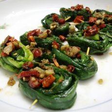 香煎韭菜卷