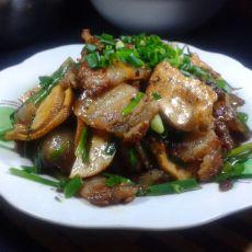 韭菜豆干炒肉的做法