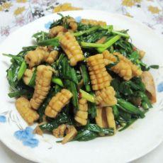 韭菜鱿鱼花