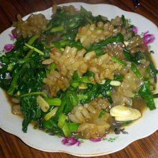 韭菜鱿鱼卷